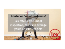 Free printer or copier inspection