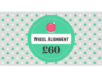 Wheel Alignment for £60 (Was £85)