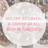 10% OFF at Cakes-A-Daisy for all businesses featured on The Best of Walsall