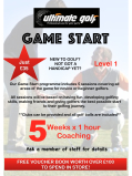 5 Game Start sessions at Ultimate Golf Walsall for JUST £35! - PLUS FREE voucher book worth OVER £100 to spend in store!