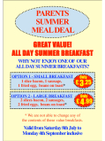 Fantastic value parents summer meal deals at Adventureland