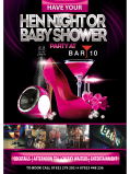 Book Your Hen Night or Baby Shower at Bar 10 in Walsall