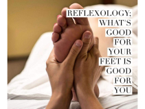 FREE WARM MASSAGE WAX with all reflexology appointments this week