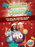 Celebrate your Christmas Party at Gala.