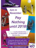 Join in November Pay Nothing until 2018!