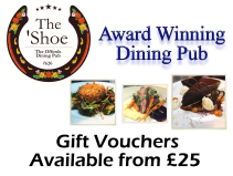 A Gift Voucher for that Special Person - The Horseshoe Inn (Award Winning Restaurant) in Offord.