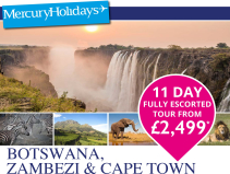 11 day Escorted Tour from £2499pp