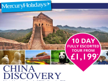 10 day Escorted Tour from £1199pp