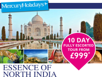 10 day Escorted Tour from £999pp