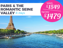 8 day River Cruise from £1479pp