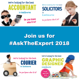 Take part in #AskTheExpert for FREE!