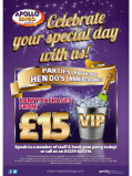 Party Packages at Apollo Bingo