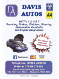 10% DISCOUNT ON all Car Repair Services at Davis Autos