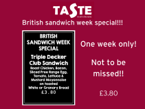 British Sandwich week special