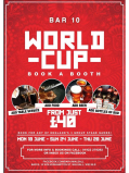 World Cup Booths starting from just £40!