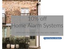10% off Home Alarm Systems