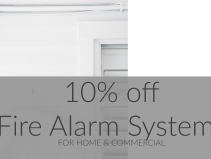 10% off Fire Alarm Systems