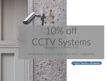 10% off CCTV Systems