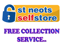 FREE COLLECTION SERVICES - ST NEOTS SELF STORE