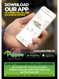Download the Chilli Peppers App on your phone and get 10% off your first order through the app!