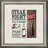 Steak Nights at The Green Dragon.