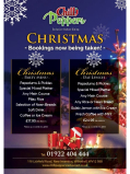 Christmas Party Menu Starting From £17.95 per person