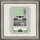 Friday Gin Night at The Green Dragon.