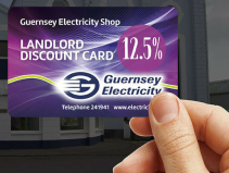 12.5% LANDLORD'S DISCOUNT  WITH GUERNSEY ELECTRICITY