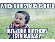 Do you have a Birthday in January?