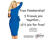 FREE membership for all when 5 friends join together