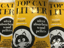 Top Cat Litter 30L (3 for £18.00)