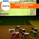 FREE Ball fitting in the new state of the art custom fitting studio at Ultimate Golf!