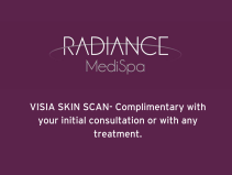 VISIA SKIN SCAN- Complimentary with your initial consultation or with any treatment.