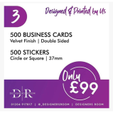 Business Cards & Stickers