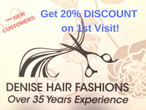 1st Visit? Get 20% Off Any Service at Denise Hair Fashions