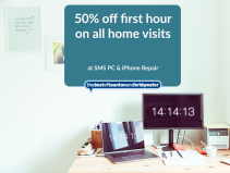 50% off first hour on all home visits