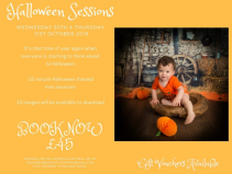HALLOWEEN THEMED PHOTOSHOOT WITH ADORA BUBBLE PHOTOGRAPHY