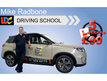 5 driving lessons for £99