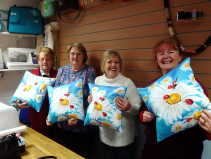 Christmas Cushion making workshop