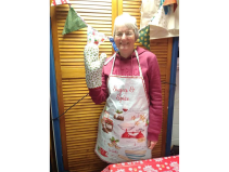 Christmas Apron and Gloves making workshop