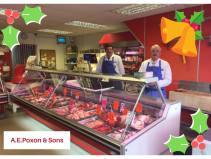 Spread the cost of Christmas with A E Poxon & Sons Christmas Club
