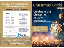 Personalised Christmas Cards from Xpress Design & Print!