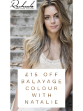 £15 off Balayage Colour with Natalie at Rachael's Hair Salon