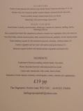 Christmas Fayre Menu £19pp at The Fingerpost Pub, Pelsall