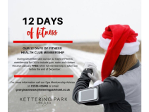 Kettering Park Hotel & Spa 12 Days of Fitness membership offer