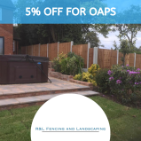 5% off for OAPS at R & L Fencing and Landscaping