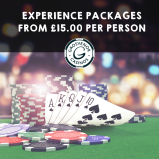 Experience Packages from £15pp at Grosvenor Casino Walsall