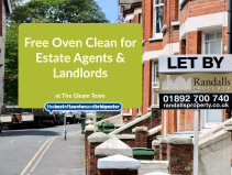 Free Oven Clean for Estate Agents & Landlords