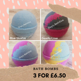 Bath Bombs 3 for £6.50 at Simply Bathtime