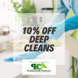 10% off Deep Cleans at T & M Cleaning Services